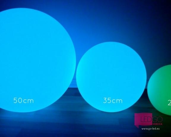 led balls, led sfera 50